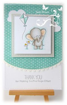 Today I am sharing a CAS card using the MFT Adorable Elephants stamp collection; Tarjetas Diy, Mama Elephant Stamps, Baby Shower Invitaciones, Craftwork Cards, New Baby Cards, Mft Stamps, Card Tags, Card Kit, Animal Cards