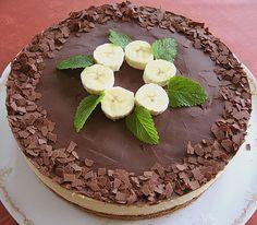 Bananen - Schokolade - Torte, ein tolles Rezept aus der Kategorie Torten. Bewertungen: 30. Durchschnitt: Ø 4,0.