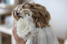 Vintage, Bridal, Hair, Brautfrisur, Hairstyle