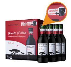 Parras Vinhos inova com lançamento da versão mini e abertura fácil Monte D'Villa