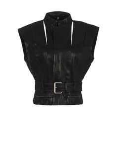 HAIDER ACKERMANN  Leather outerwearCollection:Spring-Summer  $2,475.00