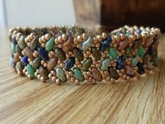 Free Tutorial - Pattern Tweak - Wescott Jewelry - SuperDuos and Seed Beads