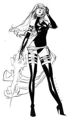 Psylocke by Marcio Takara *