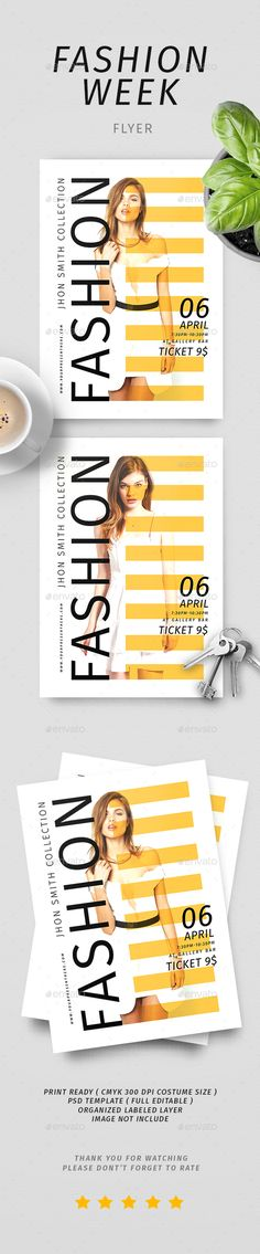 #Fashion Sale #Flyer - Commerce Flyers Download here: https://graphicriver.net/item/fashion-sale-flyer/19581310?ref=alena994