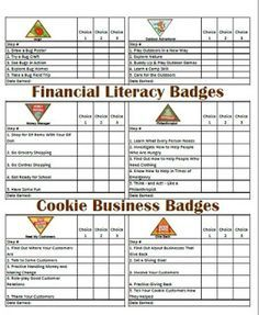 Girl scouts about me free printable free printable brownies and brownie legacy badge tracker pg 2 more malvernweather Image collections