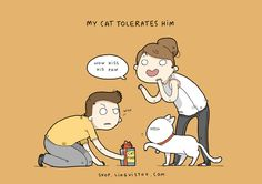 These Adorkable Illustrations About Everyday Love Totally Get It