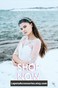 Festival Costumes, Festival Outfits, Cosplay Horns, Vampire Fashion, Headpiece, Headdress, Gothic Crown, Mermaid Crown, Bridal Crown