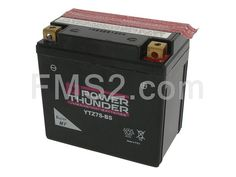 Batteria Yuasa Power Thunder YTZ7S-BS 12 Volt - 6 Ah, sigillata senza manutenzione, ricambio 0645007