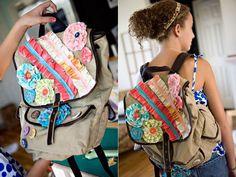 diy last year of elementary school backpack