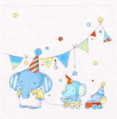 Annabel Spenceley - Juvenile Elephants