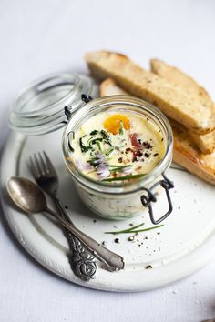 Baked eggs with spinach and ham recipe by Donal Skehan