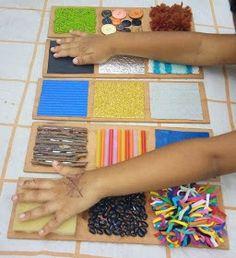 Mi Pequeño Mundo : Tablitas de Texturas