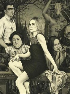 I love how it's all coven with random Thredson in the back. Great drawing though.
