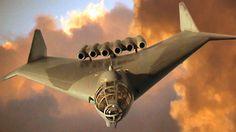 Arado E.555-1, long-range, strategic jet bomber . . .