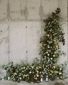 Wedding Ceremony Backdrop Swallows and Damsons - India Hobson Photography. Wedding Ceremony Backdrop, Ceremony Decorations, Floral Style, Floral Design, Floral Wedding, Wedding Flowers, Modest Wedding, Wedding Dress, Flower Installation