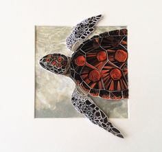 Quilling Wall Art papier quilling papier tortue Quilling
