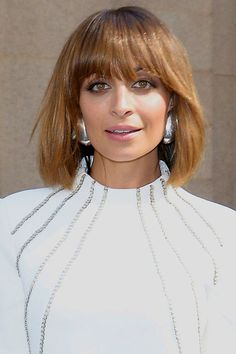 Nicole Richie's Mane Squeeze? Bangs, Of Course!