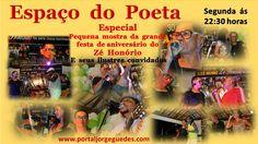 Web Rádio & Tv Espaço Jorge Guedes: Espaço do Poeta Especial Zé Honório