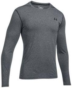 Under Armour Men's Threadborne Siro Long-Sleeve T-Shirt - Gray XXL
