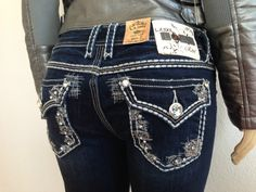 La Idol Jeans ♥ Rose Vine Collection. Available Now @ Founders in Knoxville or for shipping. Sizes 0-13.