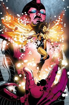 Suzi Endo worked for Stark Industries and aided Force Works in defeating Ultron, Wonder Man and herself from an alternate time line.
