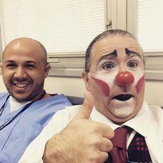 Hoje teve @olhar_do_palhaco no @hospitalsaopaulo!