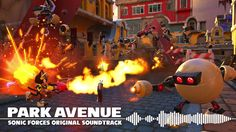 Sonic Forces OST - Park Avenue (Custom Character)
