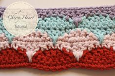 Cherry Heart: Crochet Clamshell Tutorial