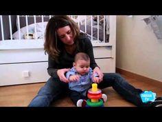 ▶ Desarrollo del bebé a los 6 meses - YouTube