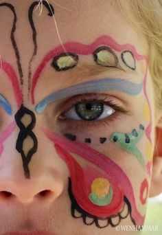 Facepainting - Ansiktsmålning Child - Barn  by Wenhammar