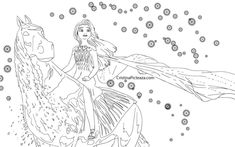 elsa coloring pages  elsa from frozen 2 in 2020  frozen coloring pages disney princess