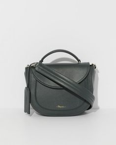 6c2dda243e8c 3.1 Phillip Lim Hudson Top Handle Saddle in Petrol. Crossbody Saddle BagSaddle  ...