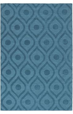 Artistic Weavers Central Park Zara Teal Rug | Contemporary Rugs