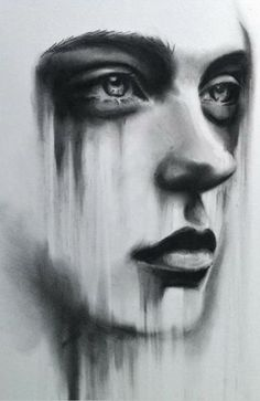 Charcoal drawing by Kate Zambrano. #art
