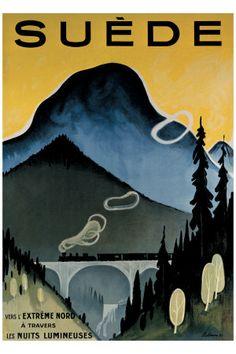 Landscapes (Vintage Art) Art Prints at AllPosters.com