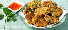 indische maiskoekjes