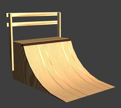 this instructable will show you how to easily make a perfect quarter pipe with: 4: sheets of 1/4 inch 4 by 8ply wood 6: sheets of 1/2 inch 4 by 8 ply wood 11: 2 by 4s each 5 ft 11 inches long 2: 2 by 4s at least 5 ft long. if you want to build a 3 ft half pipe use 3 sheets of 1/2in ply wood. by over lapping the curves. building supplies: skill saw or carving saw table saw circular saw or hand saw drill 200 - 300 2 inch screws. a hammer might come in handy.