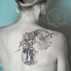 #treeoflife #marieroura #epureatelier #finelinetattoo #geometrictattoo #tattooartist #inkstinct #inkstinctsubmission