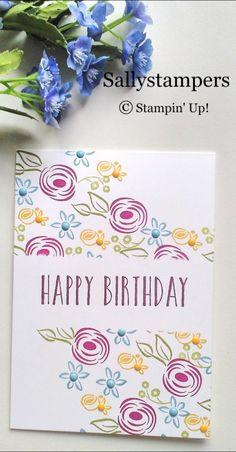 Perennial Birthday Wishes – Sallystampers