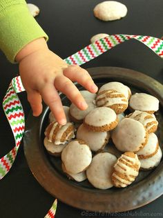 Irresistible ginger cookies with sweet orange and clove icing - Back To The Book Nutrition