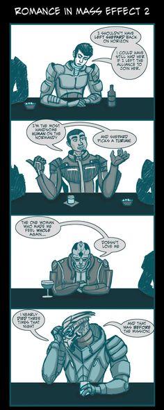 Mass Effect 2 Romance