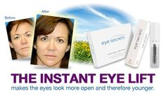 It's a life saver, really. Lose some years with Eye Secrets.