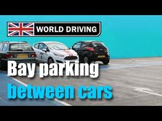 Bay Parking (Reversing) Between Cars - Simple Tips Driving Test Tips, Driving Instructions, Drive Bay, Learning To Drive, Driving School, Drive Me Crazy, Etiquette, Car Parking, Simple