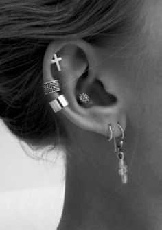 Hot ear cartilage piercing earrings #cartilage #earrings www.loveitsomuch.com