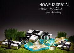 "Bahar&Reza  ""Nowruz Special"" Free Shipping!"