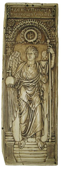 Archangel Michael  Byzantine (Early Medieval Period)   replica: from the British Museum, London