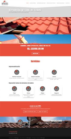 sitio realizado en Wordpress Wordpress, Contact Form, Mar Del Plata, Web Design
