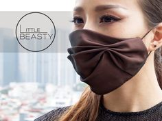 Mouth Mask Fashion, Fashion Face Mask, Diy Mask, Diy Face Mask, Face Masks, Mouth Mask Design, Create A Face, Le Divorce, Clothing Store Displays