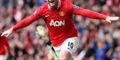 Wayne Rooney Manchester United Footballer