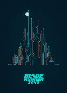 Blade Runner - Circuit City by Tracey Knight Game Character Design, Game Design, Icon Design, Design Web, Circuit City, Circuit Board, Blade Runner Poster, Brain Tattoo, Fb Banner